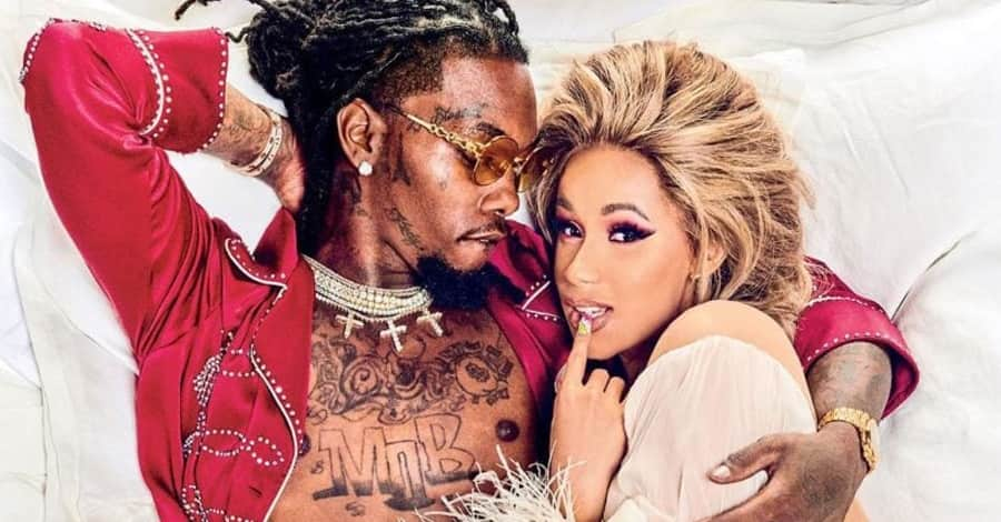 Cardi B and Offset marriage