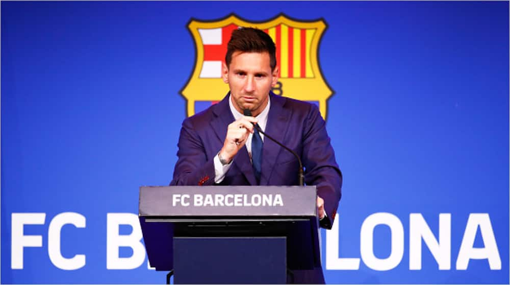 Moments After Shedding Tears During Press Conference, Lionel Messi Spotted Doing With Barcelona Fans
