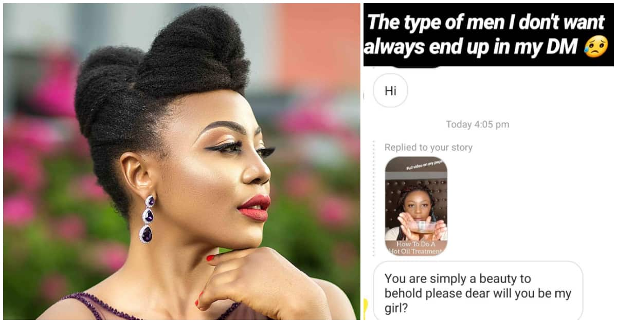 The type of men I don't want always end up in my DM - Ifu Ennada cries out