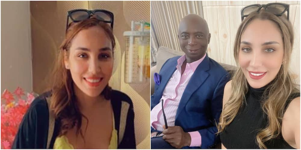 Ned Nwoko and his Moroccan wife
