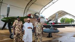 Breaking: Boko Haram in trouble as first batch of Tucano fighter jets arrive Nigeria