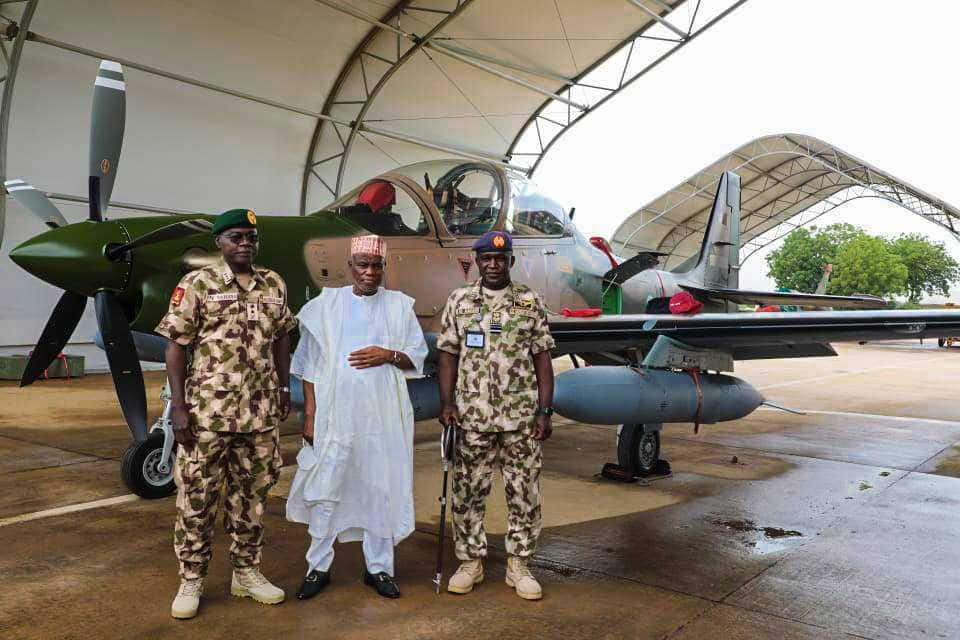 The first batch of Tucano fighter jets arrive Nigeria.