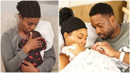 Heart-melting photo of Hollywood actress Gabrielle Union cuddling her 'miracle' daughter