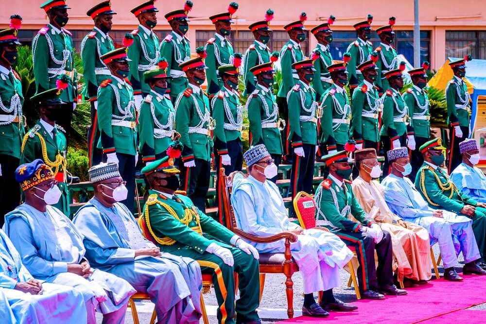 Shugaba Buhari ya halarci taron yayen sabbin Sojoji a NDA (Hotuna)