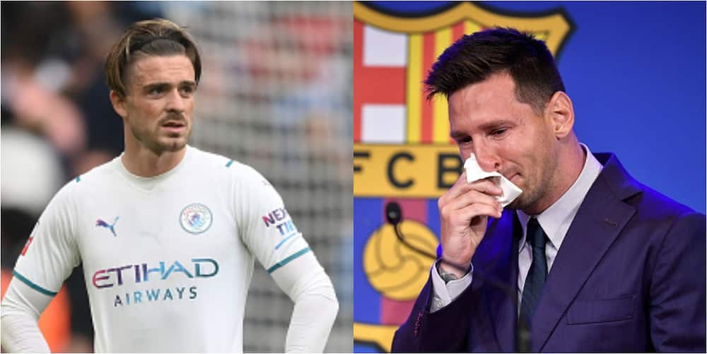 England star reveals he cried like Messi after leaving boyhood club to join English champions