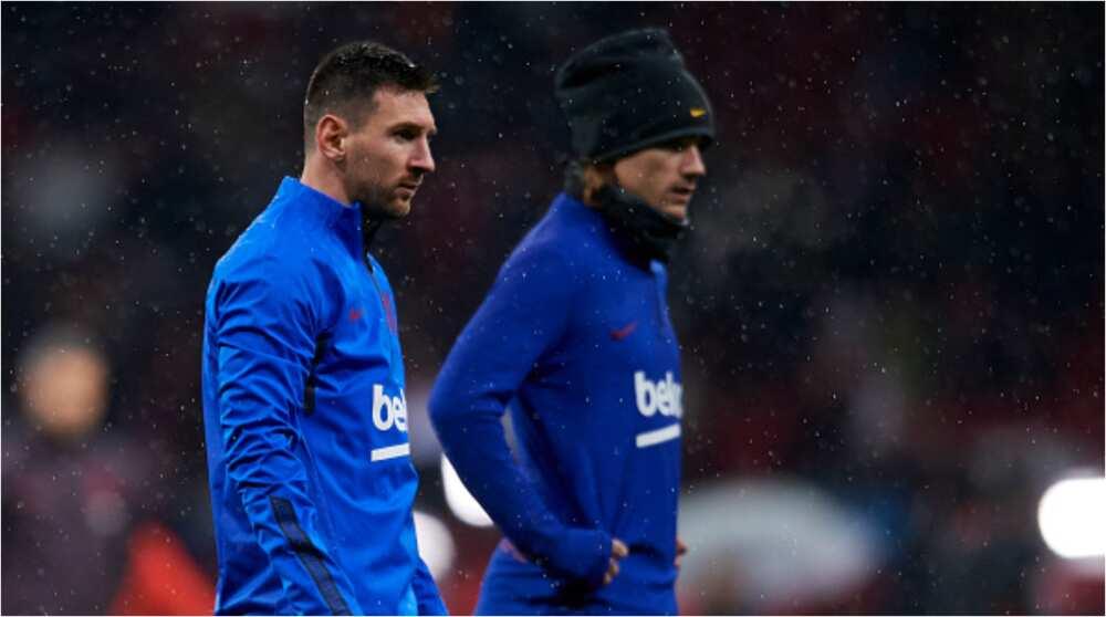 'Dan wasa Messi ya ki zuwa wasa bayan ya rubuta takardar barin kulob