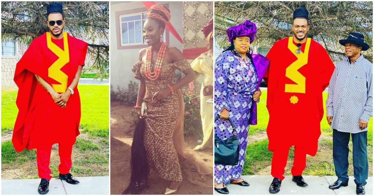 Actress Juliet Mgborukwe's ex-husband Chima Ojukwu remarries (photos) thumbnail