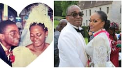 Segun Awolowo celebrates 30th wedding anniversary with wife, shares photos