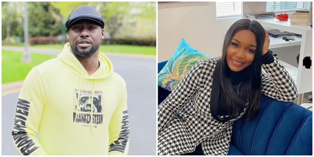 Mixed reactions as Chris Attoh secretly weds in the US for the 3rd time