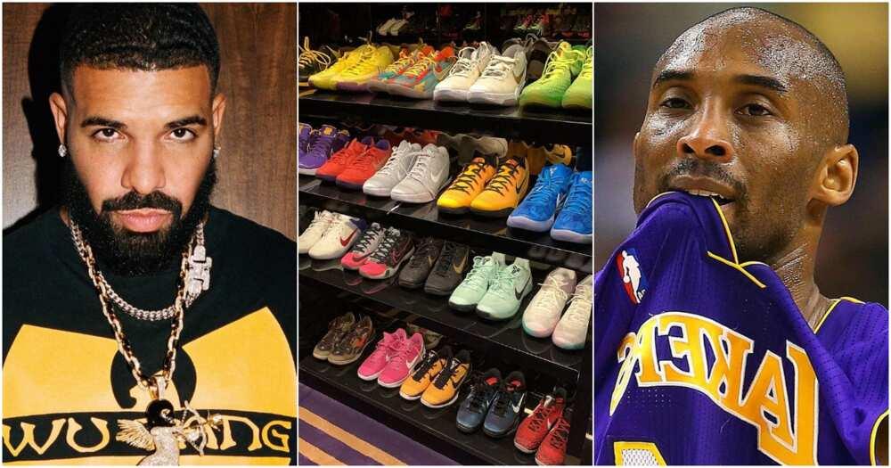 Drake and NBA legend Kobe Bryant