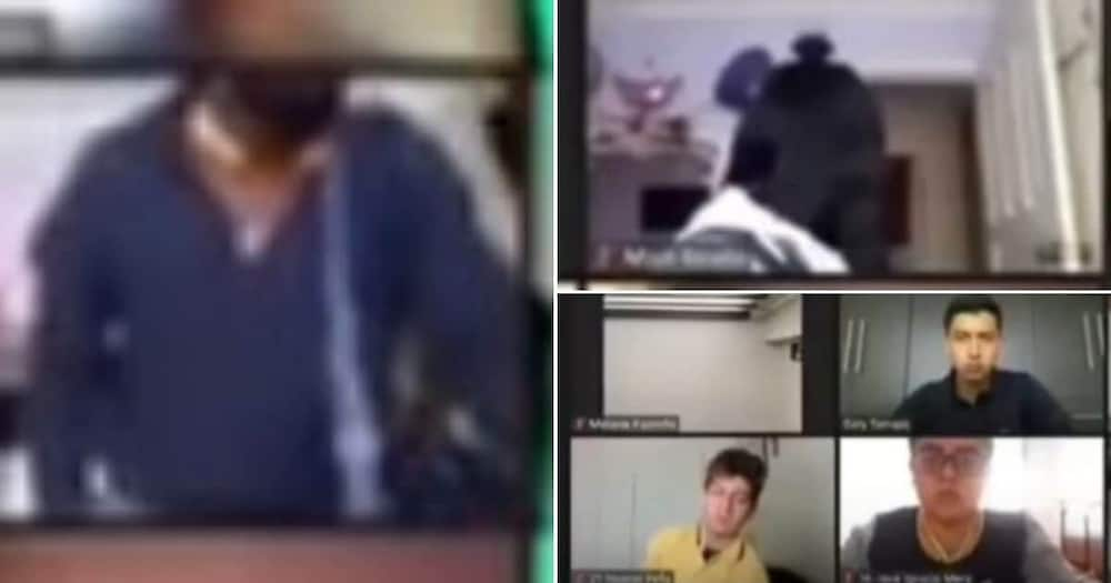 Video shows horrifying moment student is robbed during Zoom class