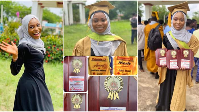 Lady celebrates emerging best graduating student in SLT & bagging numerous awards, gets inducted into NISLT