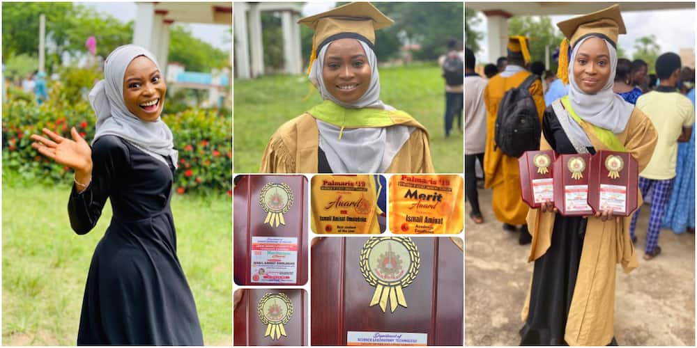 Ismail Aminat has celebrated her achievements on social media