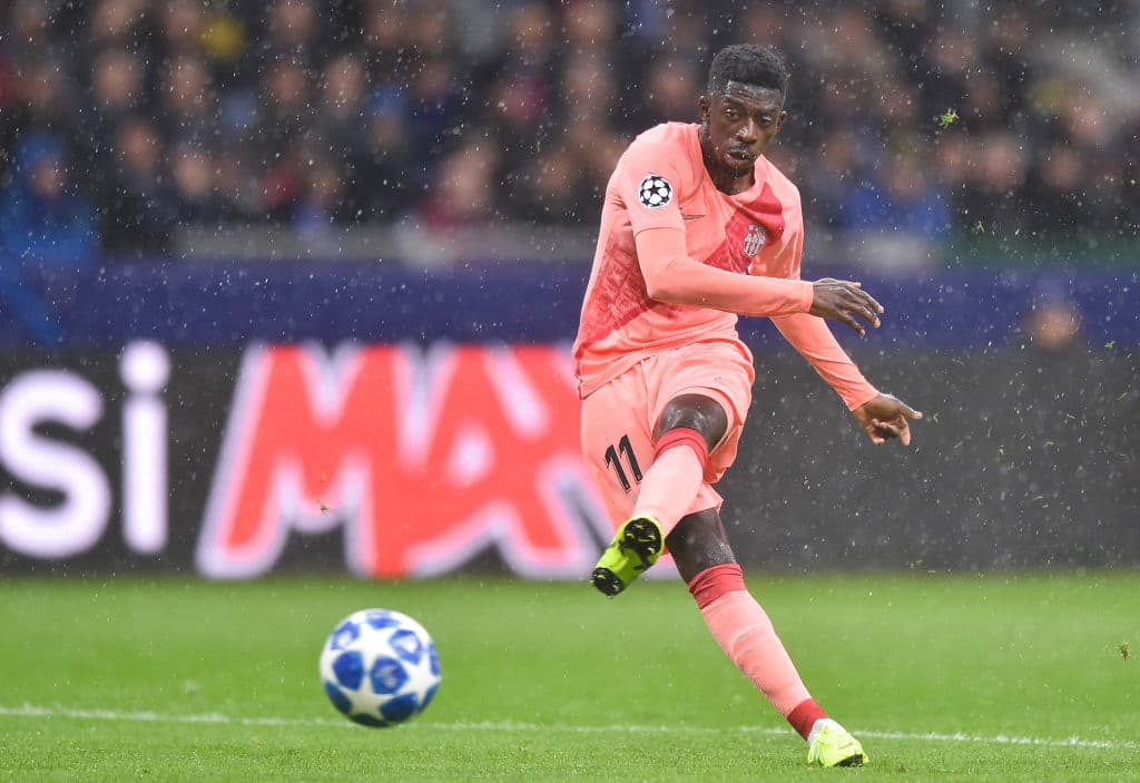 Dembele in trouble with Barcelona chiefs after missing training ahead of Betis clash