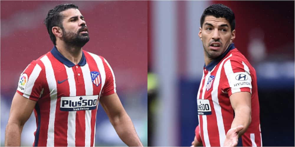 Diego Costa jokingly calls Suarez offensive name after scoring brace against Elche