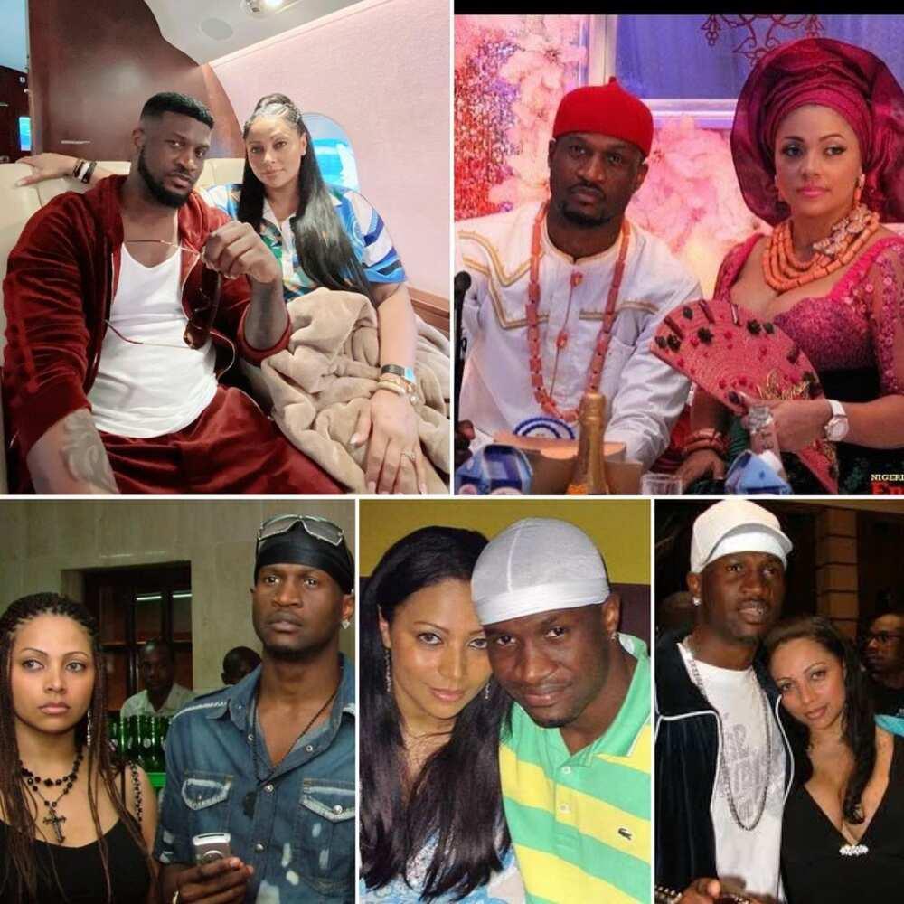 Peter Okoye wife