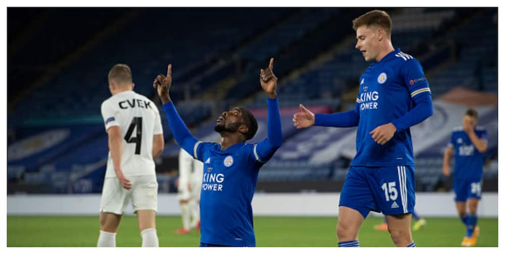 Kelechi Iheanacho scores, provides 2 assists in Leicester's 3-0 win over Zorya