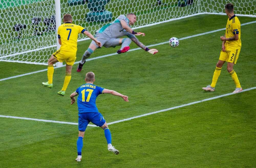 Sweden vs Ukraine: Artem Dovbyk's header sends Shevchenko's men to Euro 2020 quarterfinals