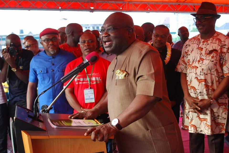 JUST IN: Governor Ikpeazu wins at Abia governorship tribunal - Legit.ng