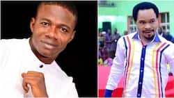 Nigerians criticise Calabar pastor as he challenges Prophet Odumeje to rain-calling duel in Abuja