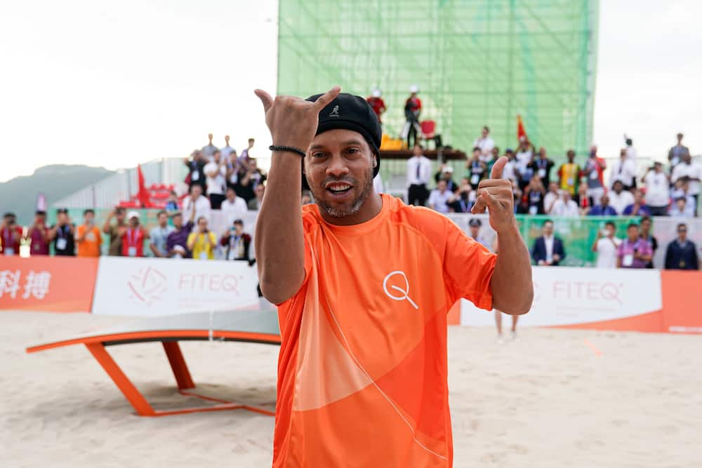 Ronaldinho contracts Coronavirus weeks after being released from prison