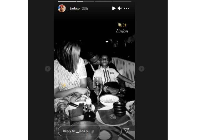 Singer Wizkid's 3rd Baby Mama Jada Shows off Their Beautiful Union in Cute Family Photo