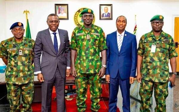 Lekki shooting: I'll report army to high command, Buhari, Sanwo-Olu