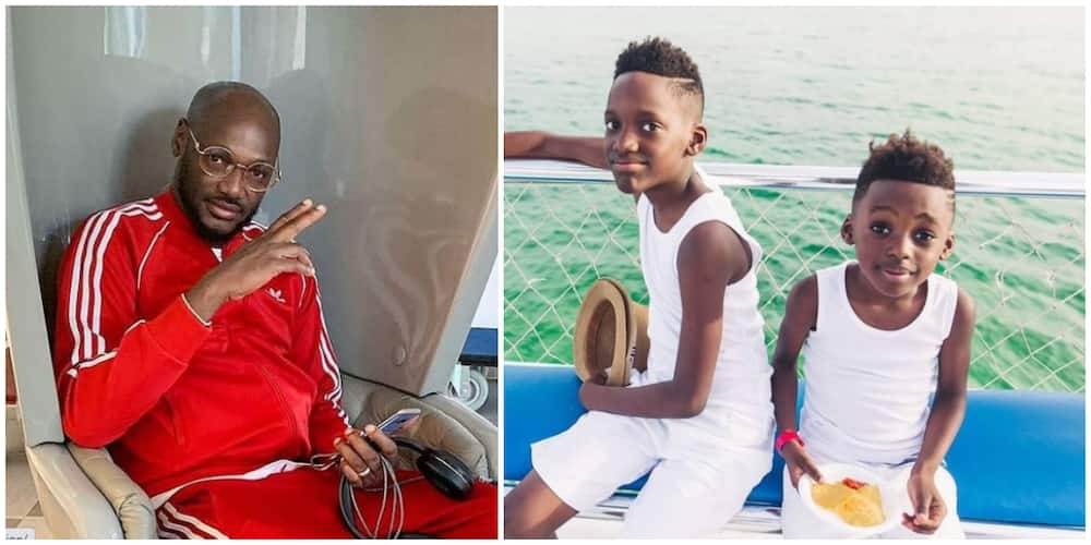 2baba gets 2 PS5s for his two sons with baby mama Pero