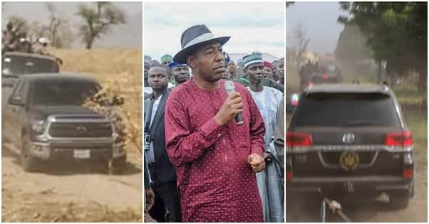 Two killed as convoy of Nigerian governor is involved in fatal accident