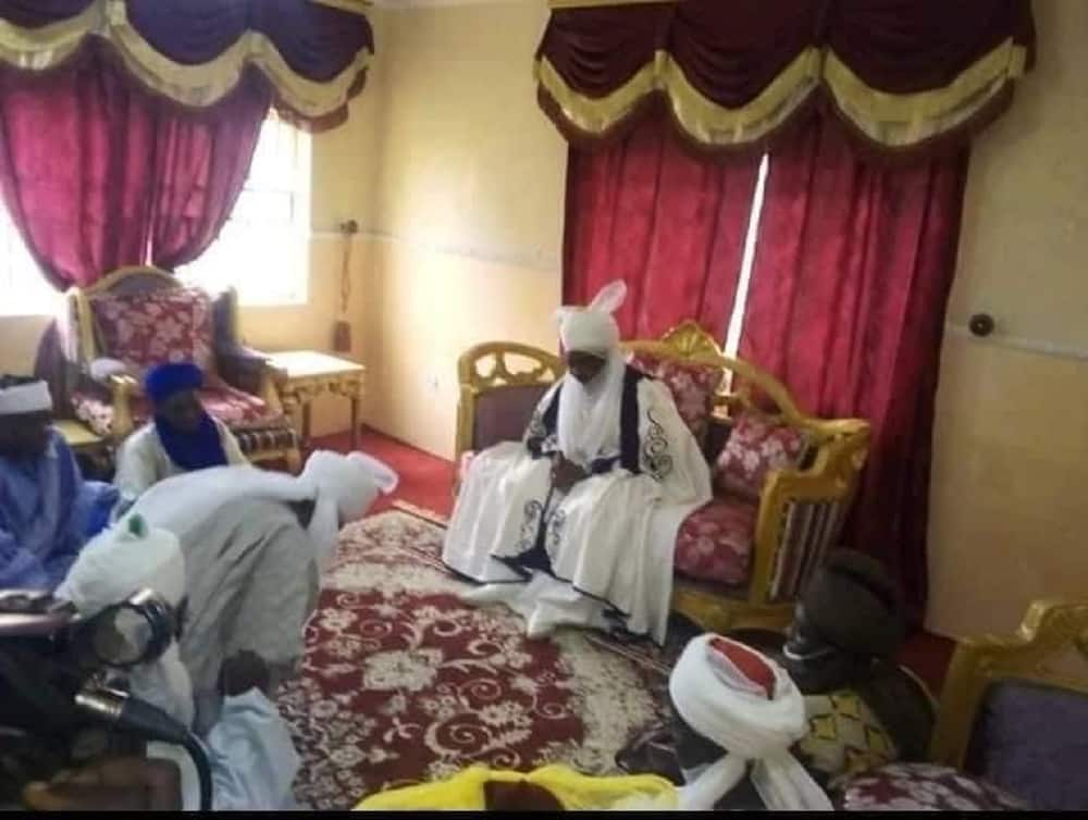 Hotuna: Munir Jaafaru ya kai wa sabon Sarki ziyara, ya yi mubaya'a