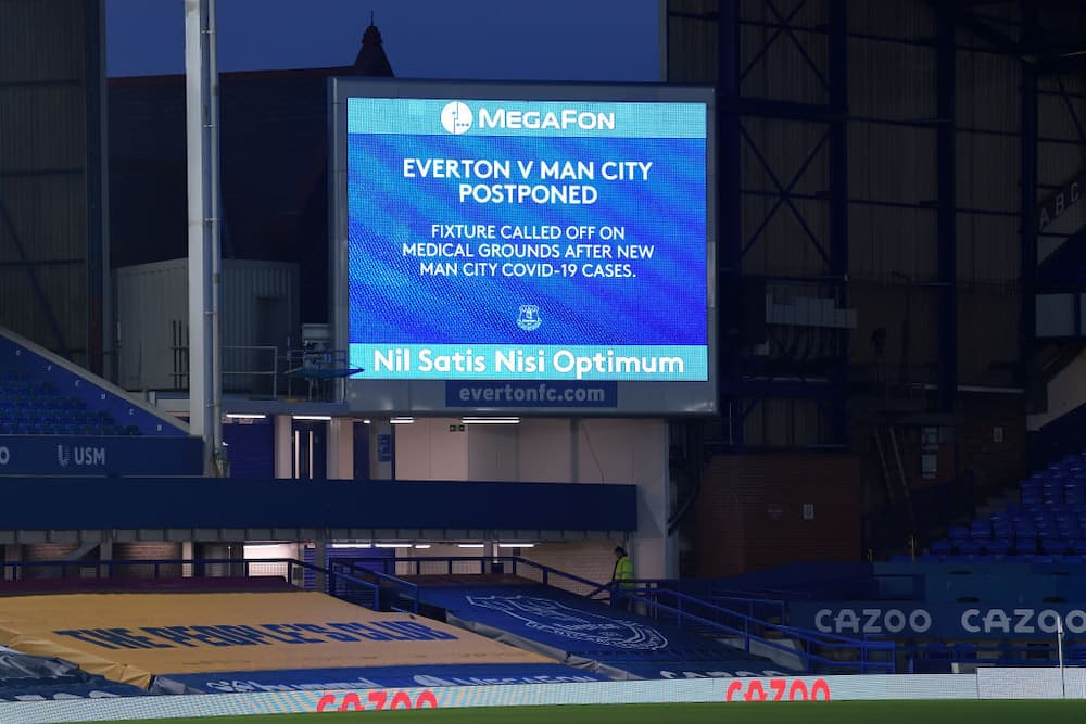 Everton vs Manchester City: Premier League game postponed after COVID-19 outbreak