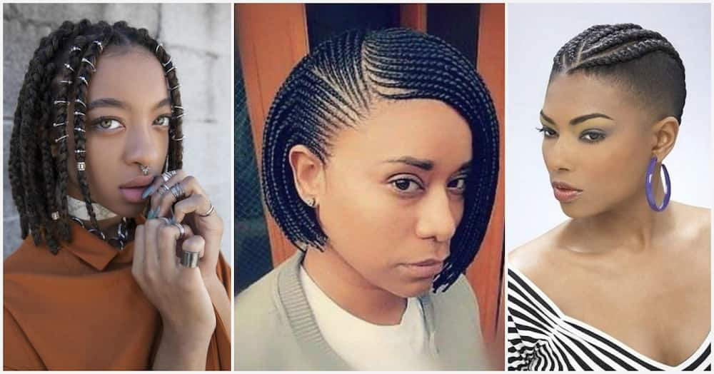 Short Bob Braids With Shaved Sides Great Option For Your 2019