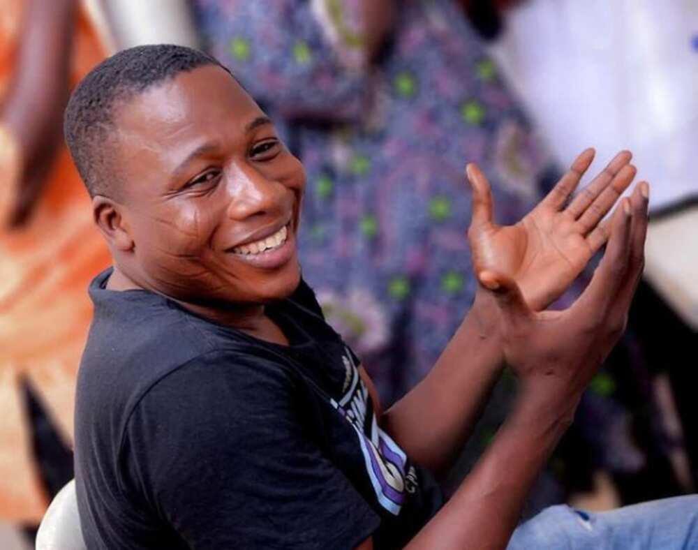 Sunday Igboho before he was arrested