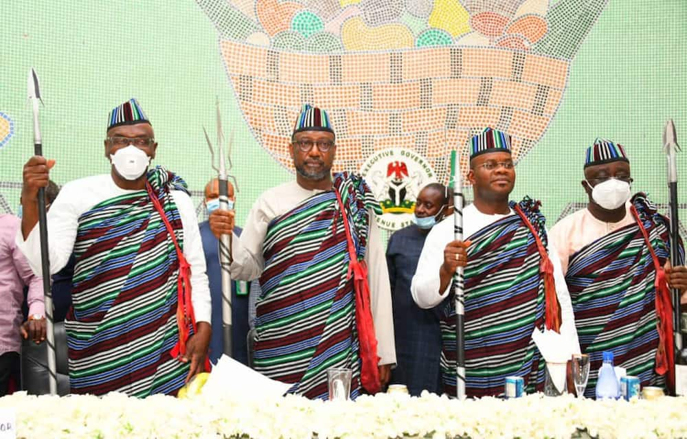 Amid defection rumour, APC governors visit Ortom, give reasons