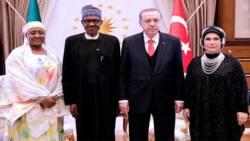 Buhari zai karba bakuncin shugaban kasar Turkiyya, Erdogan da matarsa