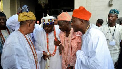 Oyo monarchs declare support for Buhari's re-election, laud president on road construction