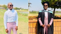 Young man bags three degrees, many people praise his hardworking spirit