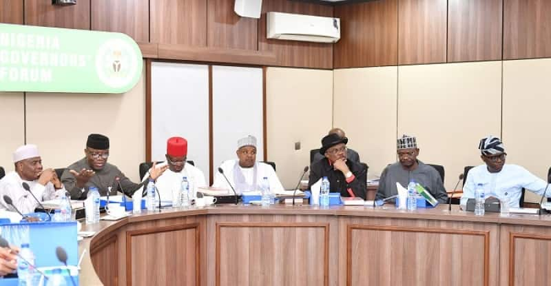 Nigerian governors to review internal security