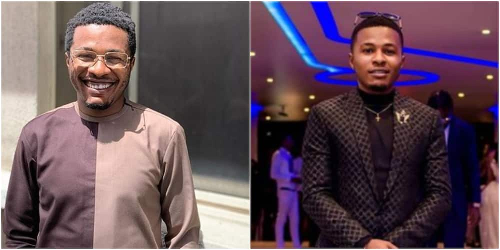 Reactions as actor Spiff announces the end of his role in Johnsons' movie