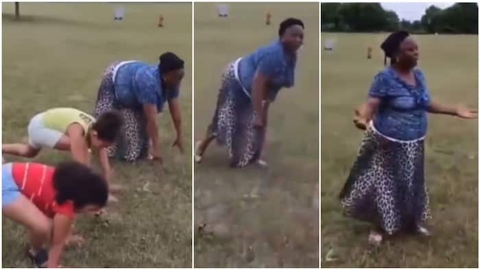 Old woman refuses to run because 'referee' didn't say '1, 2, 3, go', funny video stirs reactions