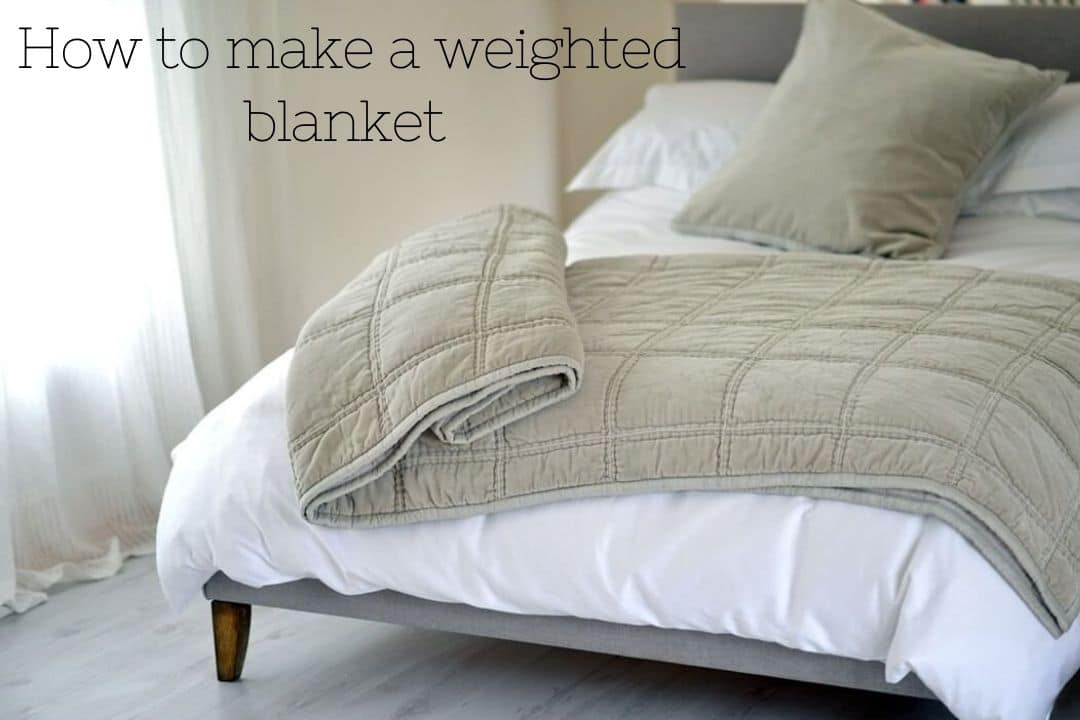How To Make A Weighted Blanket A Diy Tutorial Legit Ng
