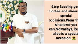 Ali Baba: Being alive is a special occasion, comedian says, urges fans, colleagues to live for the moment