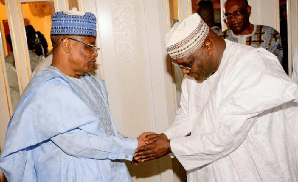 Tsohon Mataimakin Shugaban kasa Atiku ya ziyarci Babangida a gidansa