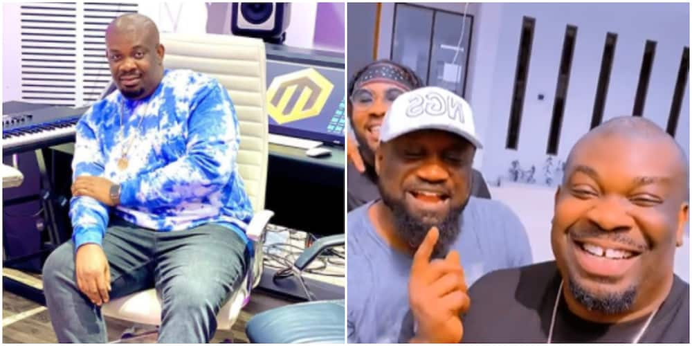 Don Jazzy visits Juse Okoye's beautiful new mansion (video)