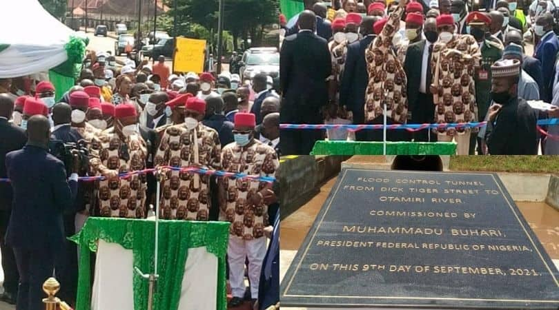 Buhari commissions projects in Imo