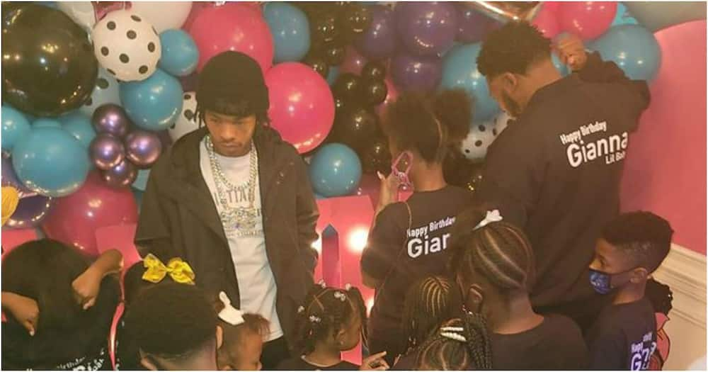 Rapper Lil Baby throws lavish birthday party for George Floyd's 7-year-old daughter