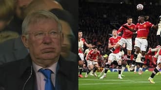 Footage of how legendary Alex Ferguson reacted to Man United's 5-0 humiliation emerges online
