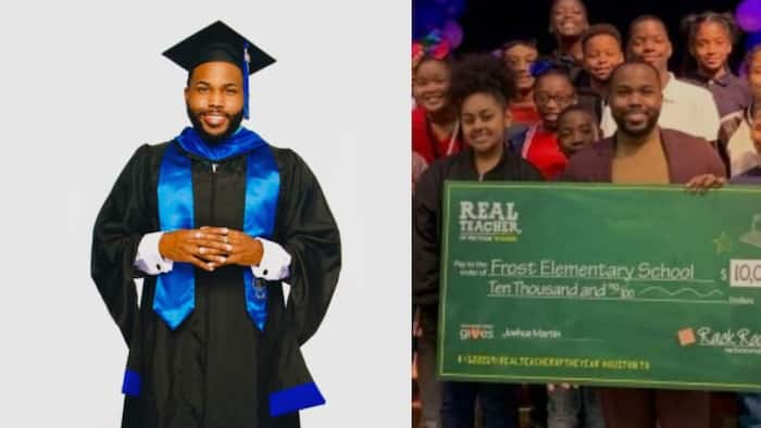 Kind teacher uses his money to offer scholarships to poor children who can't afford schools