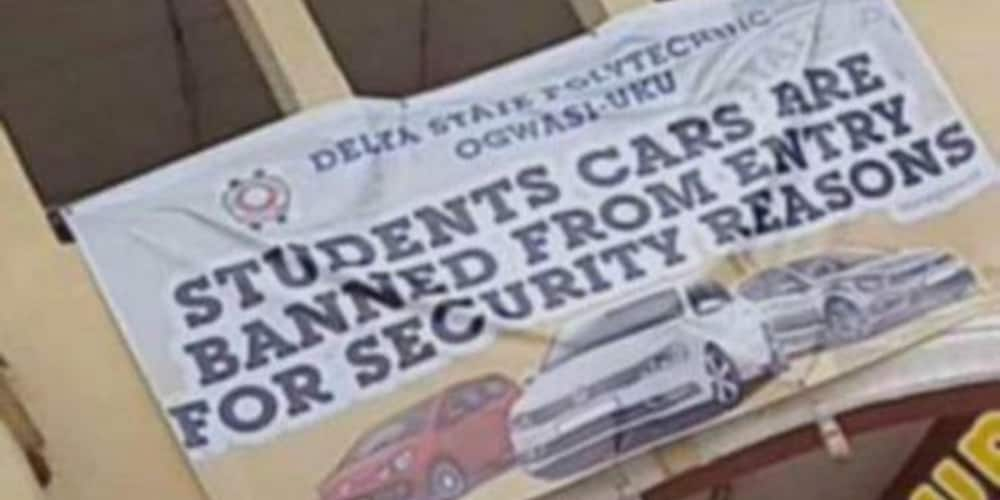 Delta Poly allegedly bans students from driving cars on campus, cites security reasons