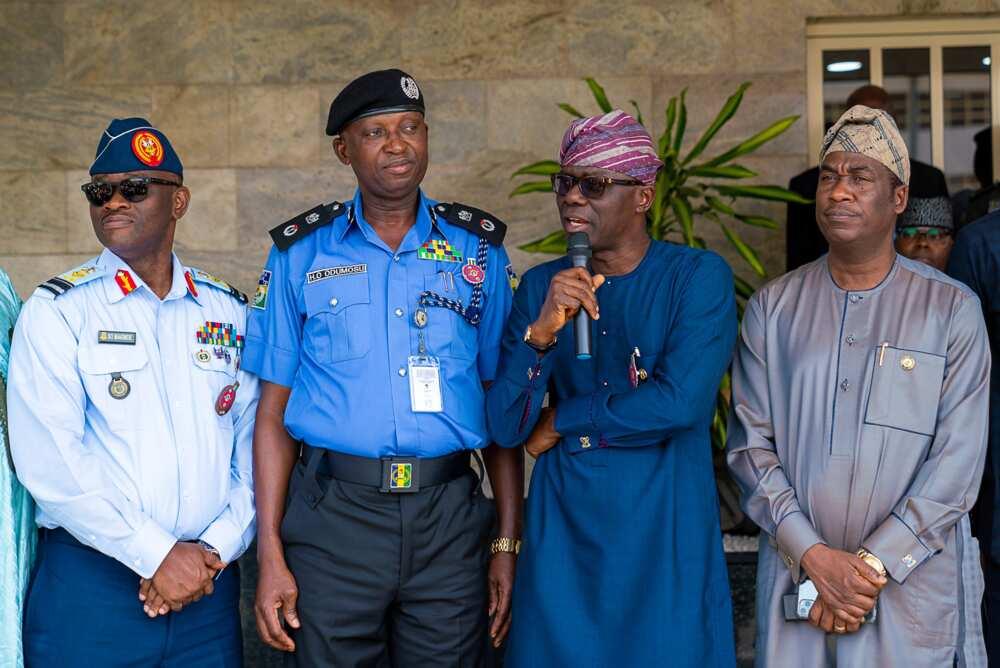 EndSARS: Seven key things Lagos police demand from Governor Sanwo-Olu